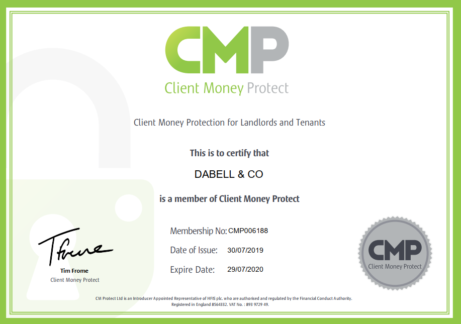 Client Money Protect Registered